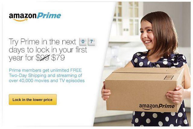 消费提示:Amazon 美国亚马逊 Amazon Prime 会员服务 价格上调至99美元