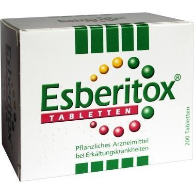 德国UKA优卡有机生活馆  Esberitox 施保利通 抗感冒增强免疫力口服片4岁+ 200 粒