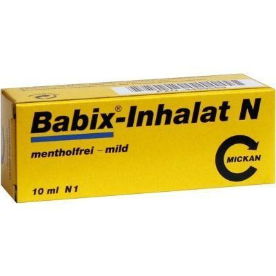 德国UKA优卡有机生活馆 BABIX Inhalat N 婴幼儿防感冒鼻塞油 10 ml