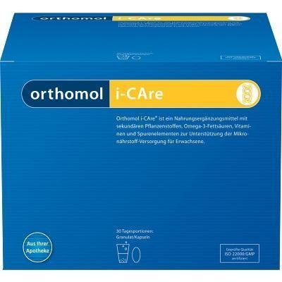 德国UKA优卡有机生活馆 Orthomol 奥适宝 i-Care改善亚健康营养颗粒冲剂 30袋