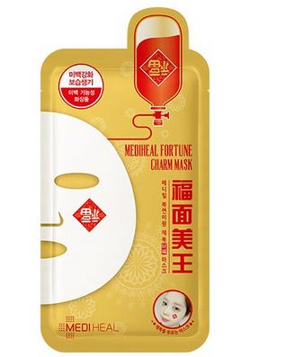 【女神节特惠】MEDIHEAL美迪惠尔 福面美王财富面膜 10片装 免韩国直邮运费