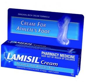 Lamisil 乐肤舒脚气膏 15g(治真菌足癣 脚癣)【全场满99澳0运费】