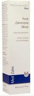 德国UKA优卡有机生活馆德国UKA Dr  Hauschka 德国世家 纯天然复合牙膏 75ml(薄荷味)