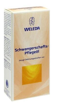 德国UKA优卡有机生活馆Weleda 维蕾德 孕妇预防修复妊娠纹按摩油 100ml x3