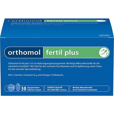 德国UKA优卡有机生活馆Orthomol Fertil Plus 男性备孕活精胶囊 30袋 价格:37 95欧,约279元