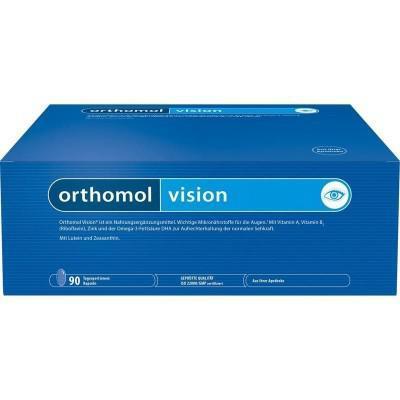 德国UKA优卡有机生活馆Orthomol Vision AMD 奥适宝眼保健营养素 90粒