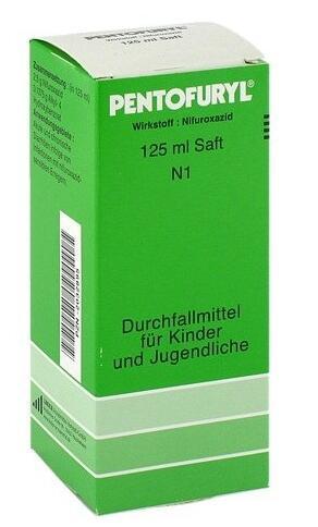 德国BA保镖药房Pentofuryl 宝宝止泻液 125ml 现价:9,25 €,约¥67 7