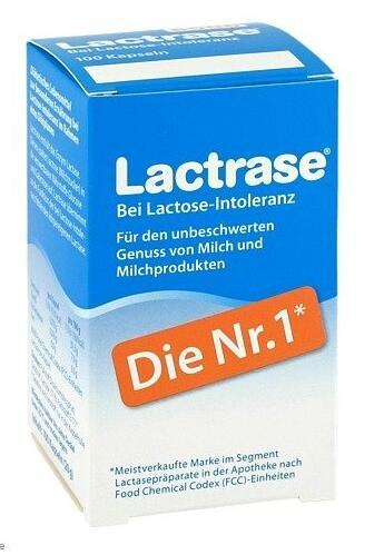 德国BA保镖药房Lactrase 乳糖酶(6000单位) 60粒 特价:15,25 €,约¥111