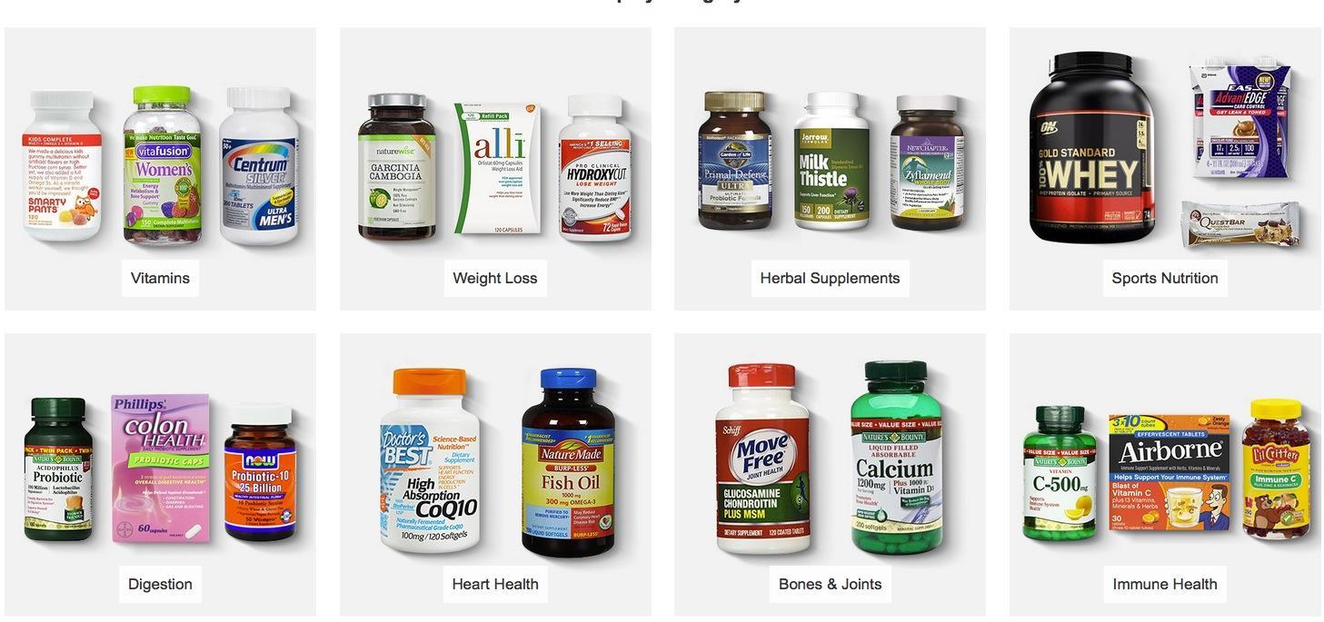 Amazon美国亚马逊海淘保健品排行榜