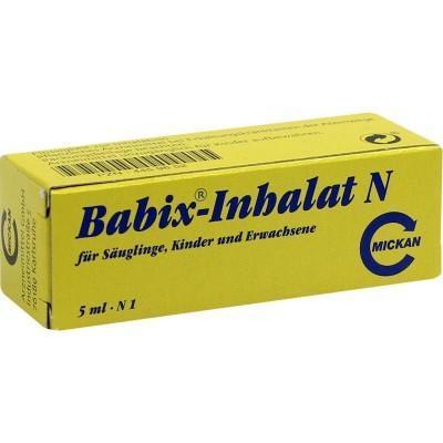 【德国UKA】BABIX 婴幼儿防感冒鼻噻油5 ml 特价:€3 97约¥29 18