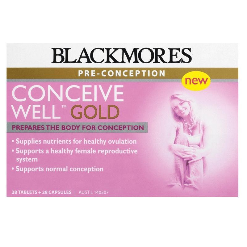Blackmores 孕前助孕黄金营养素