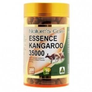 【凑单满减】Nature`s Care 袋鼠精胶囊 男性保健营养品 3500mg x 200粒AU$32 99,约¥162澳洲直邮!