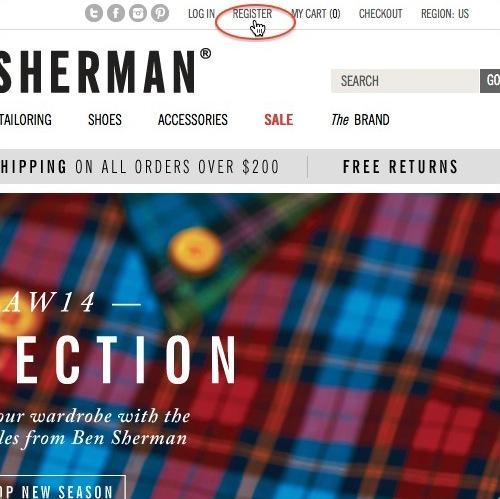 Ben Sherman宾舍曼美国官网注册购物指南-ben sherman官网价格价位