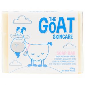 【凑单免邮】The Goat Soap 原味羊奶皂纯天然手工皂 100g 澳洲直邮! AU$3 99,¥18