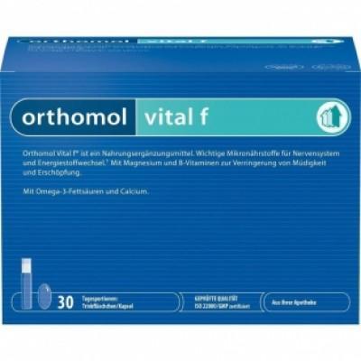 【德国UKA】Orthomol 抗疲劳缓压女性滋养口服液 30剂(情人节专场+全场满120欧免运费(奶粉除外)+5欧专享优惠)