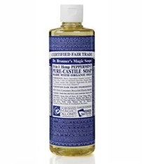 Dr Bronner& 039s 布朗博士 薄荷洁面液体皂 472ml