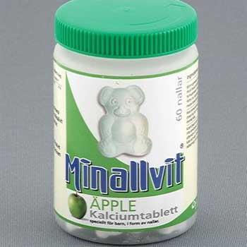 瑞典skanstullshalsokost海淘Minallvit Kalciumtablett nallar小熊维生素教程