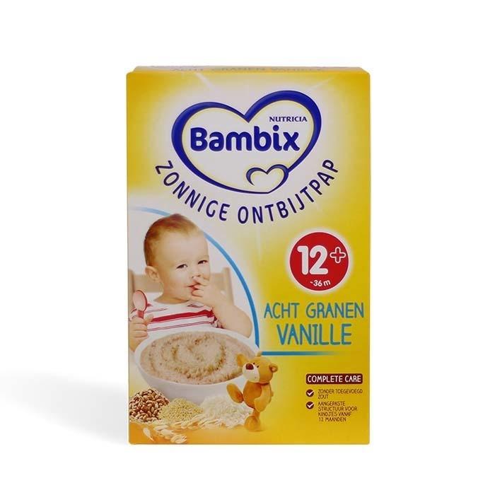 母婴必备:Bambix - 阳光早餐系列8种谷物米粉250g 【全场运费15欧,满120欧立减6欧】