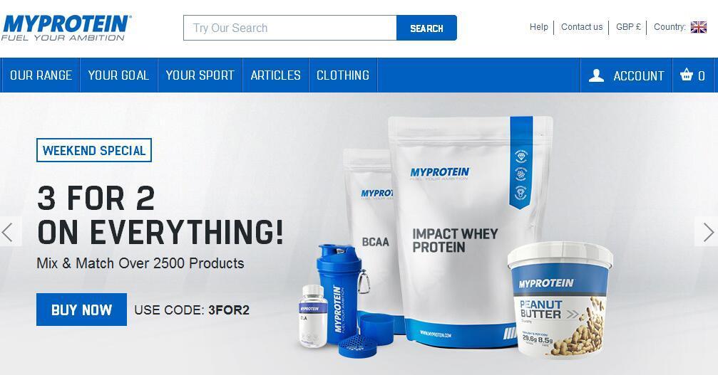 英国Myprotein官网购物攻略 英国Myprotein官网购物指南(中文版)