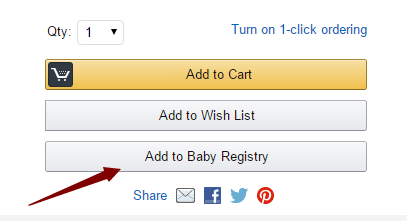 美国亚马逊Baby registry注册及使用攻略