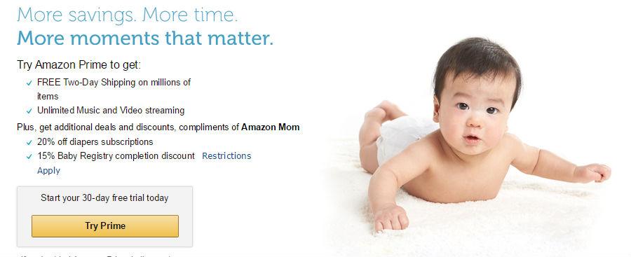亚马逊Amazon Mom妈妈<font color=red>计划</font>申请、取消详细解读