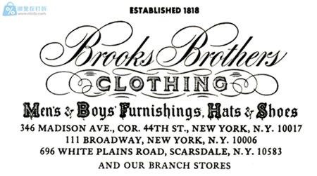 美国BrooksBrother 布克兄弟男士正装衬衣导购