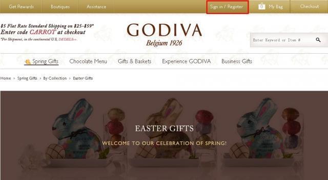 Godiva官网海淘教程攻略,海淘Godiva巧克力教程