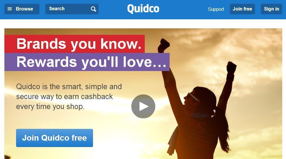 英国海淘返利网站Quidco介绍
