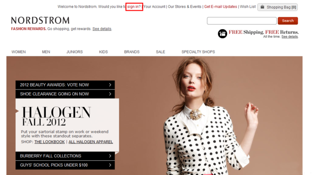 Nordstrom 海淘购物教程 (以Dior精华露为例)