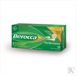 Berocca 拜耳 泡腾片VB+VC橙子味 30颗 (增强免疫力、防流感)(夏日大放价 满100澳免邮+0税费)(AU$14 95RMB约71元)