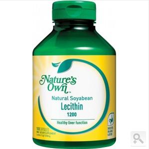 Nature& 039s Own 天然有机大豆卵磷脂胶囊 100粒(含卵磷脂1200mg)( 满100澳免邮+0税费)(AU$17 19约RMB81 1元)