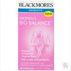 Blackmores 澳佳宝 澳洲Womens Bio Balance 女性生理平衡胶囊 30粒(AU$22 17约RMB10 53元)(满100澳免邮最后一天)