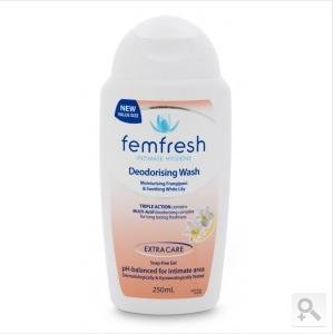 Femfresh 温和无皂女性私密洗护液 250ml (去除异味)(AU$6 4约RMB30 4元)(满100澳免邮,最后一天
