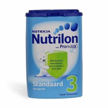 价格新低:Nutrilon 荷兰牛栏标准成长奶粉3段 800g 10个月以上宝宝【满减+独家专享+奶粉满包邮+税费补偿】