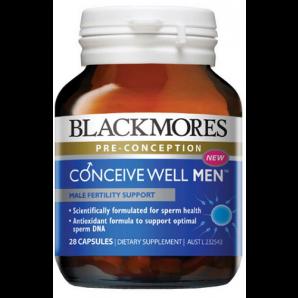 【全场免邮+专享优惠】Blackmores 澳佳宝 男性备孕优生营养素(提高精子活力) 28粒 澳洲直邮! 码后价AU$18 99,¥9
