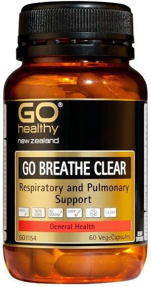 【新西兰PD折扣药房】 GO Healthy 高之源 清肺胶囊 60粒25 5纽约¥123(专场9折+全场满89纽包邮)