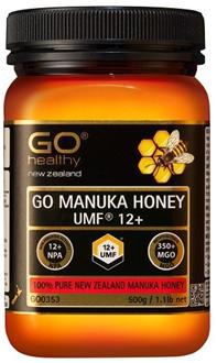 【新西兰PD折扣药房】GO Healthy 高之源 天然麦卢卡蜂蜜 UMF12+ 500g  55 5纽  约¥267(专场9折+全场满89纽包邮)