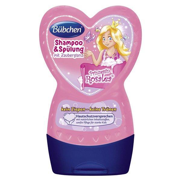 【免邮+特价+税补】Buebchen 宝比珊粉红公主洗发乳护发素二合一 230ml