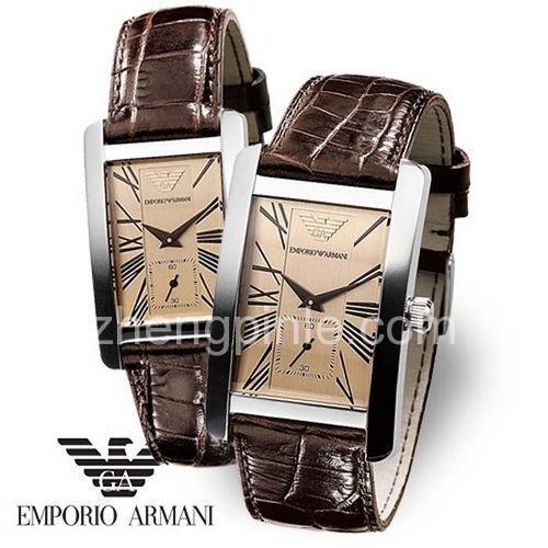 阿玛尼EMPORIO ARMANI手表真假对比辨别教程