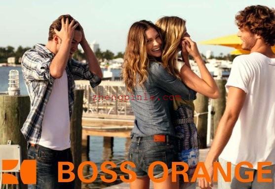 hugo boss牛仔裤真假辨别方法orange