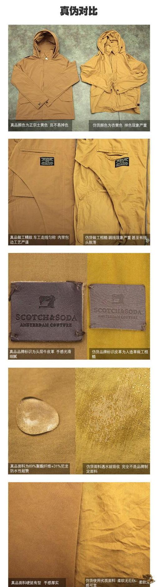 苏格兰苏打Scotch&Soda真假辨别方法