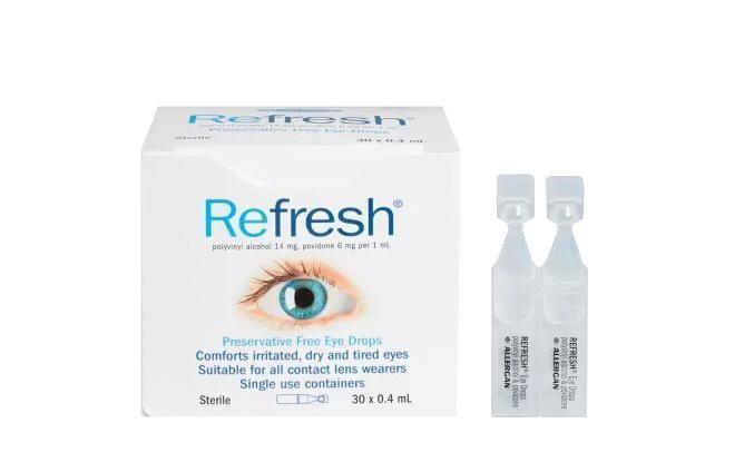 眼药水怎么选? 澳洲Refresh滴眼液推荐