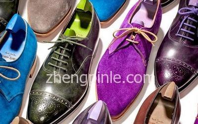 浅析男士皮鞋的种类及选购