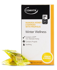 Comvita 康维他 麦卢卡蜂胶润喉糖(柠檬和蜂蜜味) 12粒  7 3纽 约¥35