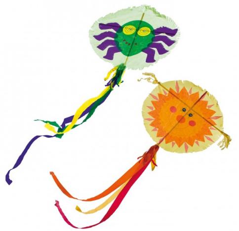 JAKO-O 纸制风筝 2件装