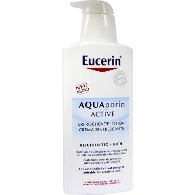 Eucerin 优色林水平衡清新保湿身体乳 400ml(滋润型) 特价:12 88欧