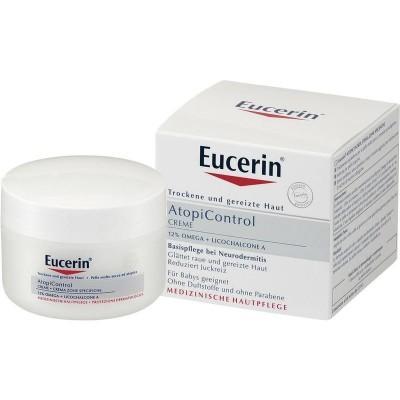 【德国UKA】 Eucerin 优色林AtopiControl湿疹抗过敏舒缓霜 75ml (婴幼儿适用) 特价:15 66欧