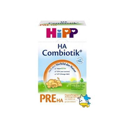 【德国UKA】 Hipp 德国喜宝HA低敏益生元婴儿奶粉 Pre阶段(0-6个月) 500g  特价:14 94欧
