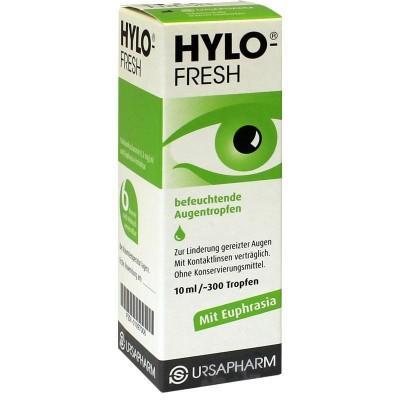 【德国UKA】 Hylo-fresh清新舒缓滴眼液 10ml 特价:8 67欧