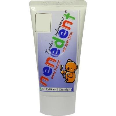 【德国UKA】 Nenedent 儿童可食用无氟牙膏 50ml  七夕特价:1 5欧(原价:1 69欧)